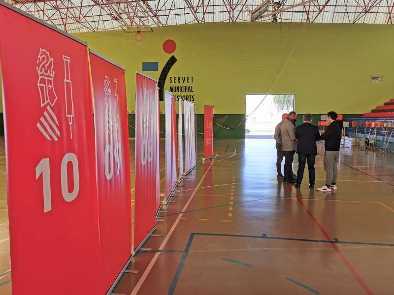 Centro de vacunación en Xirivella. EPDA