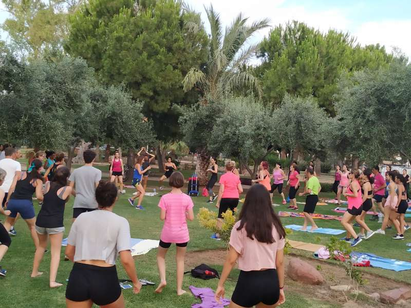 Una imagen de las actividades deportivas programadas por el Ayuntamiento este verano. / EPDA
