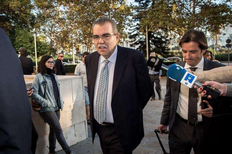 El expresidente del Valencia CF Juan Soler. EFE ARCHIVO