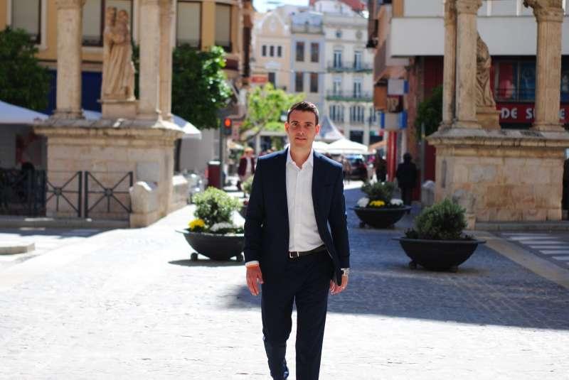 El portavoz de Ciudadanos (Cs) Alzira, Miguel Vidal.