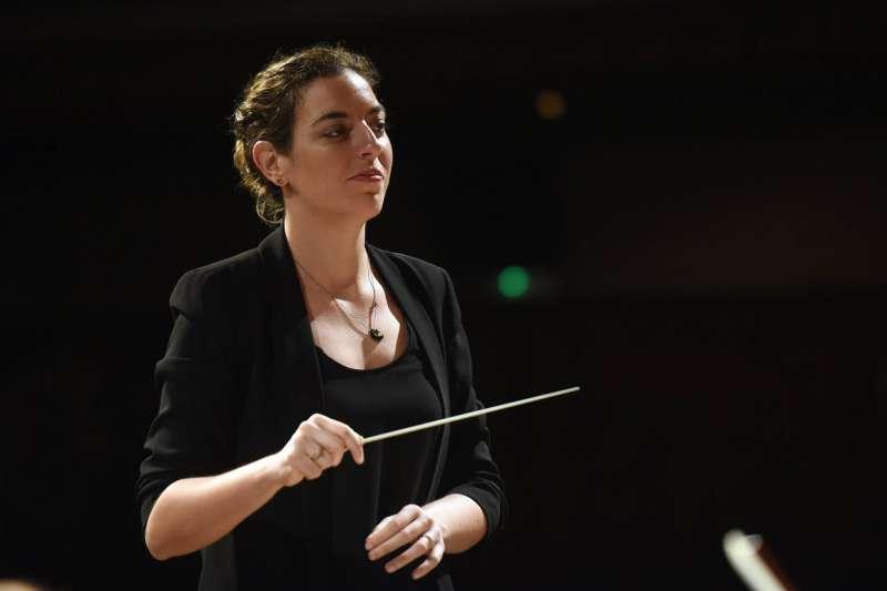 Lara Diroy, directora de orquesta. EPDA