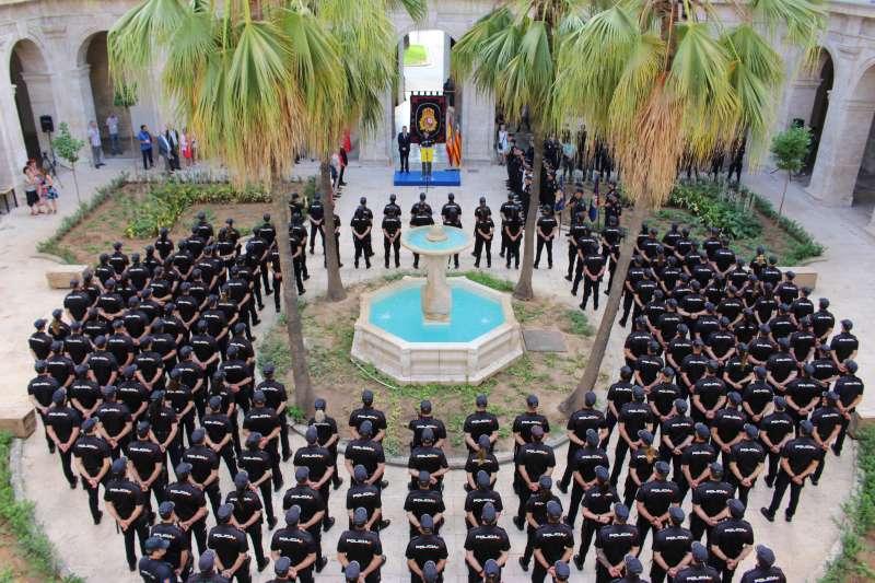 381 Policías Nacionales en prácticas se incorporarán a la provincia de València. EPDA