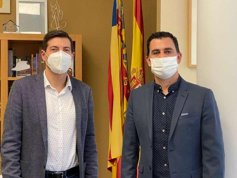 Rafa García y Toni Subiela