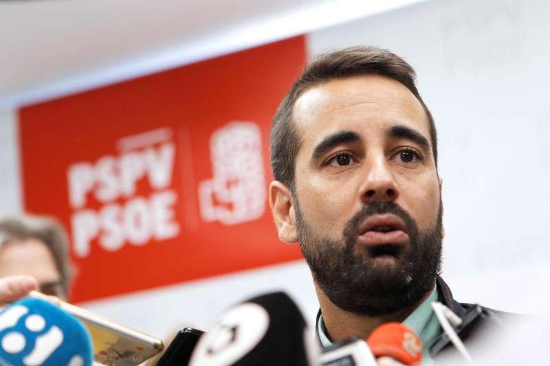 El diputado socialista en Les Corts y secretario de Organización del PSPV-PSOE, José Muñoz.