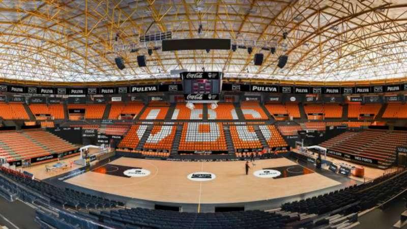 Foto archivo la Fonteta./Valencia Basket