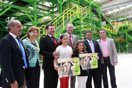 Inauguración del Complejo de Valorización y Eliminación de Residuos en Caudete de las Fuentes. Foto EPDA