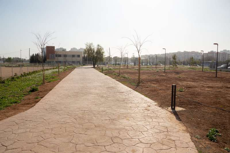 Zona reurbanizada