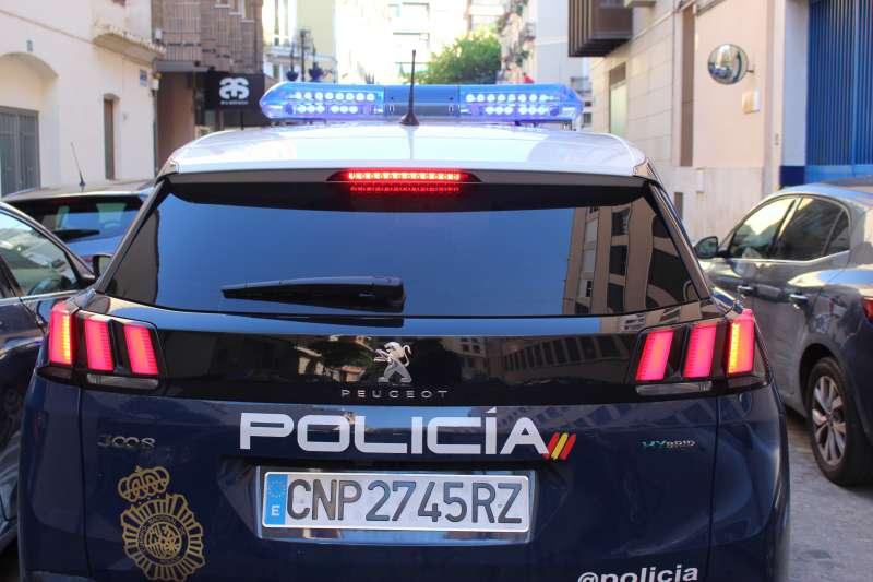 Imagen de un vehículo policial.