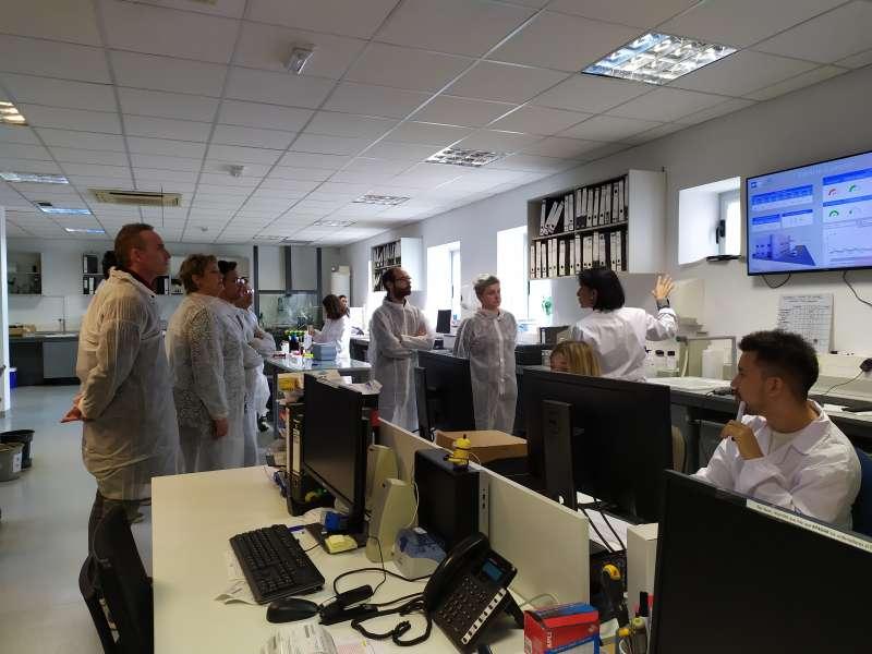 Visites a les diferents instal·lacions de Global Omnium. EPDA