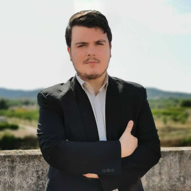 Alejandro Snaz, candidato de Ciudadanos a la alcaldía de Casinos. /epda
