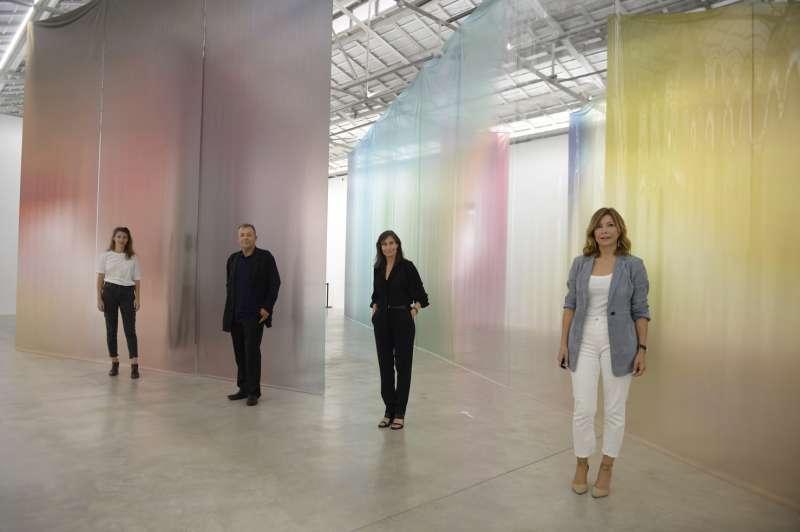 Inma Femenía, Vicent Todolí, Sandra Guimaraes y Susana Lloret