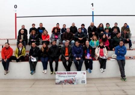 Imagen de los docentes. FOTO. EPDA