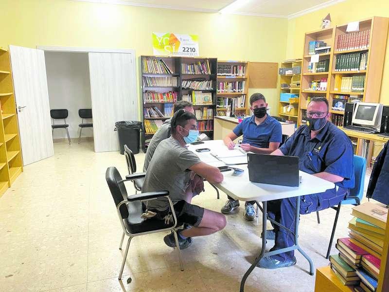 Reunión de trabajo en el Ayuntamiento de Fuenterrobles