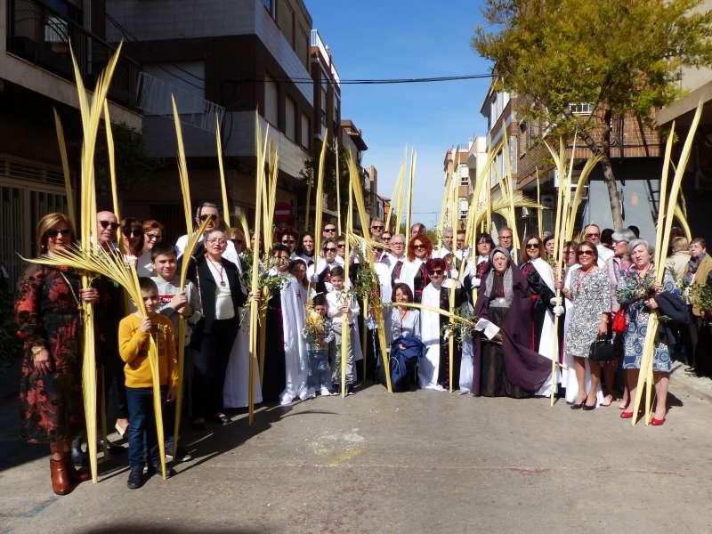 Procesión de Domingo de Ramos de Albal