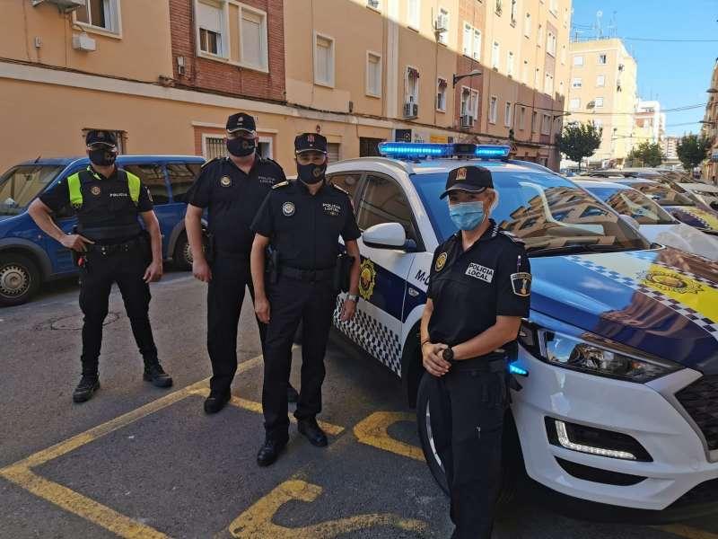 Policia local de Xirivella