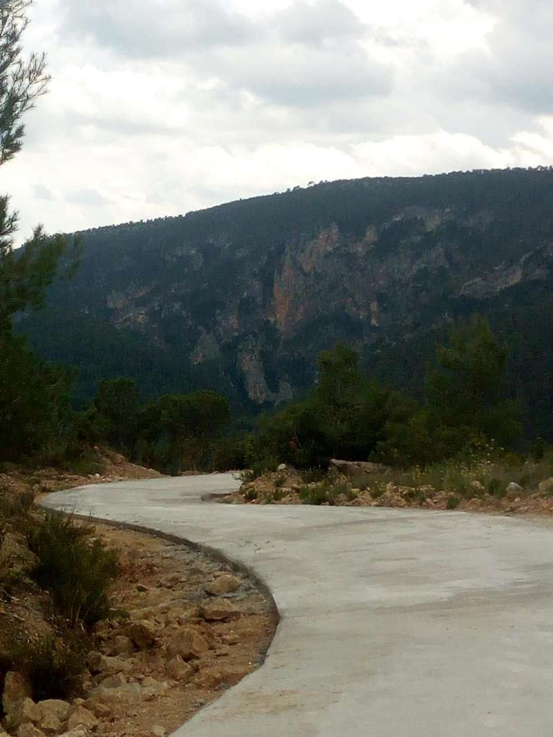 Uno de los caminos reparados. EPDA.