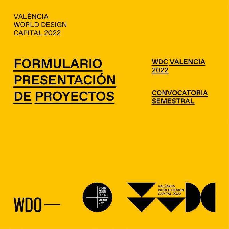 Formulario Presentación de proyectos./PDA