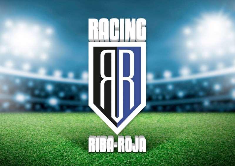 Logo del nuevo Racing Riba-roja. / EPDA
