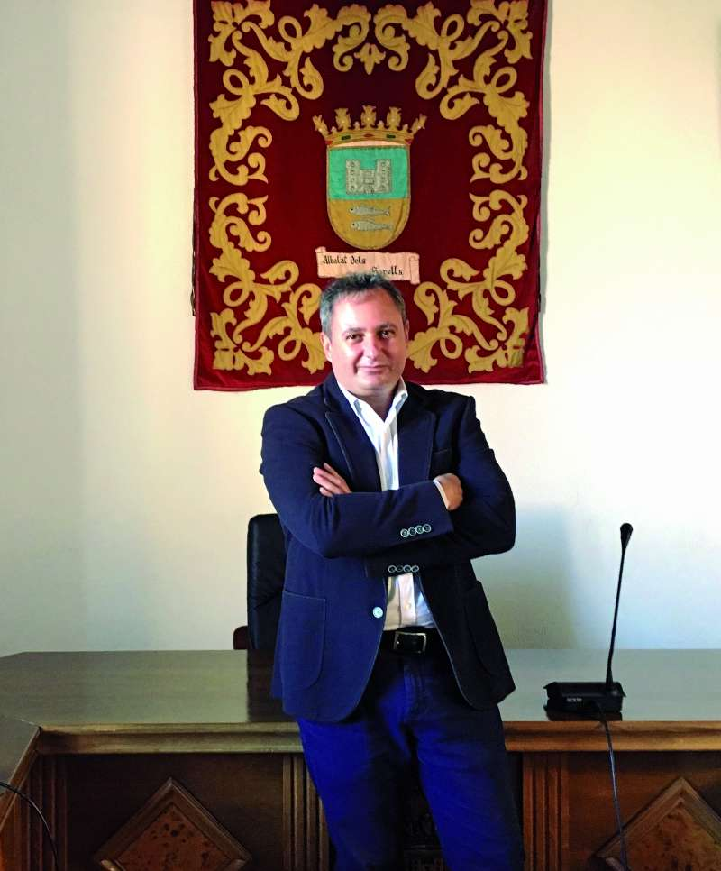 L?alcalde d?Albalat dels Sorells, Nicolau Claramunt. / epda