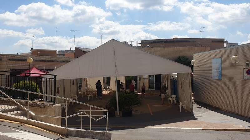 Centro de Salud de Riba-roja. / EPDA