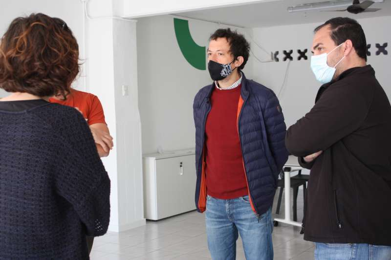 Visita al Centre Cívic del Grup Lourdes/EPDA
