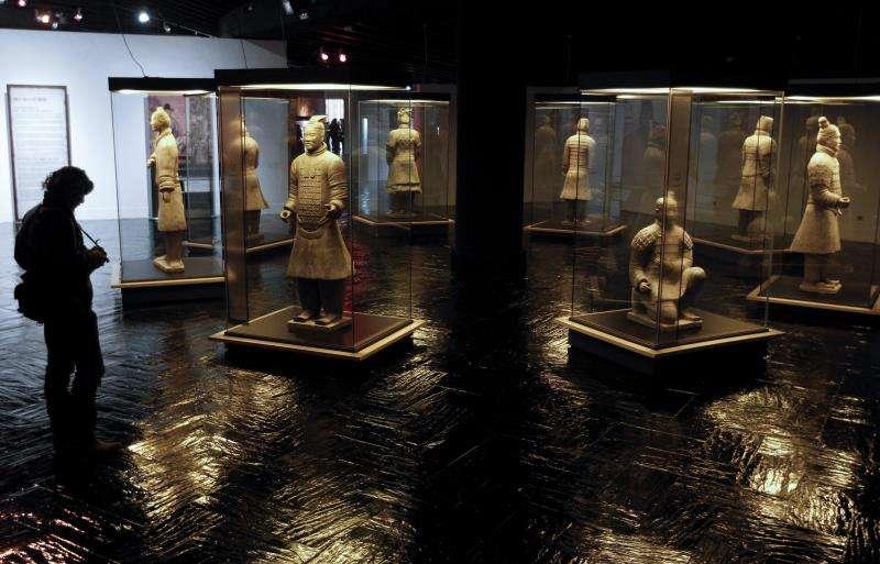 Exposición dedicada a los Guerreros de Xian. EFE/Archivo