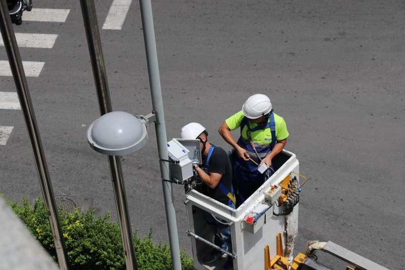 Sensores de medición de la calidad del aire en Torrent. EPDA