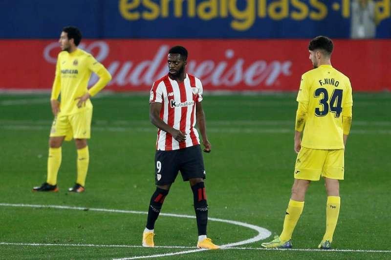 Imagen de archivo del último Athletic-Villarreal/EFE