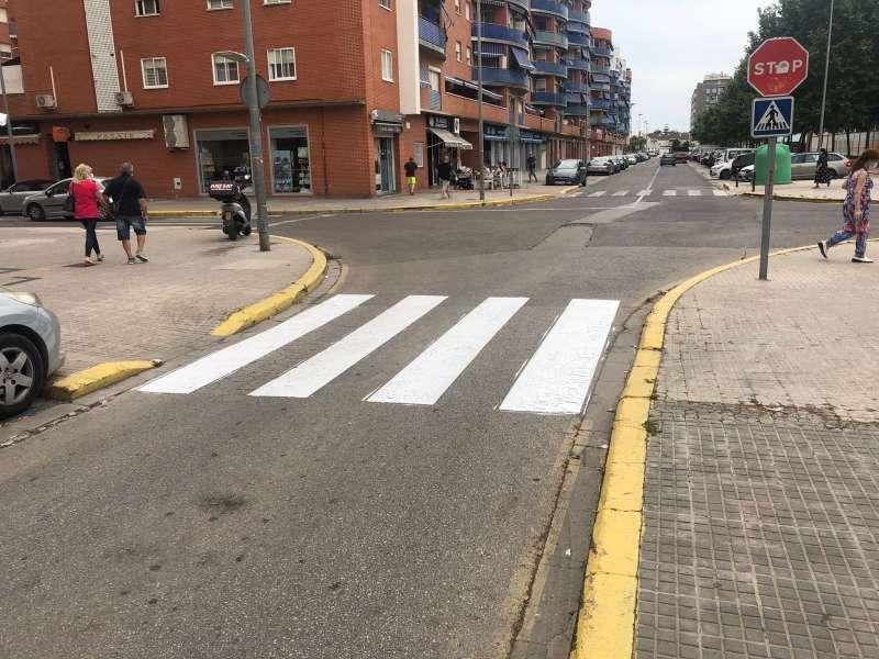 Pintura vial a Alaquàs. EPDA