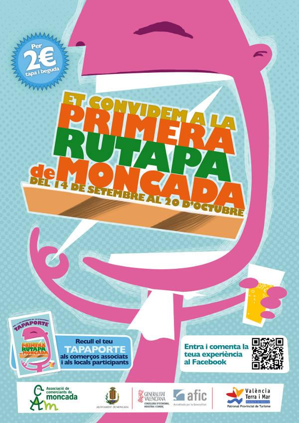 Cartel promocional de la iniciativa gastronómica. EPDA