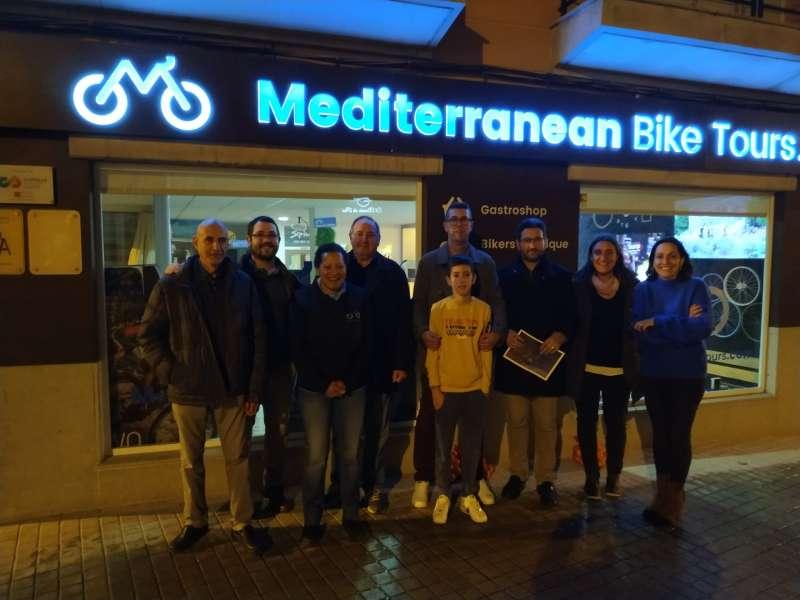 Visita al Mediterranean Bike Tours. EPDA