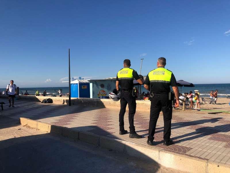 La Policía Local de Sueca. EPDA