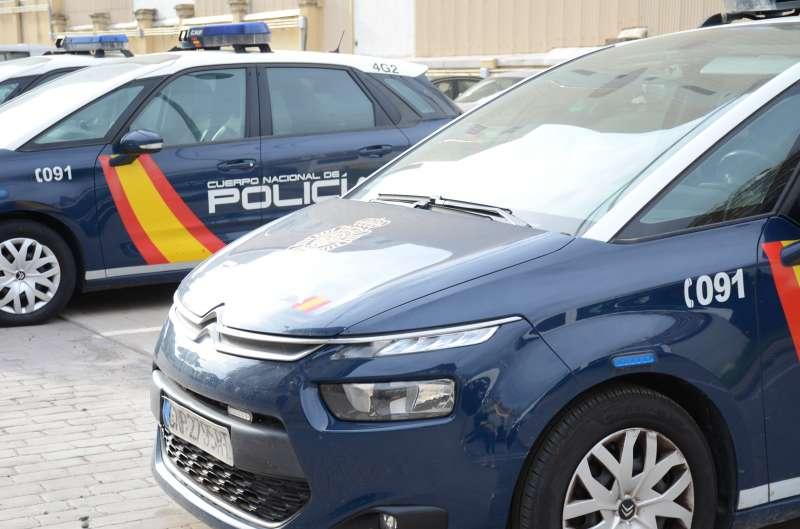 Vehículos policiales