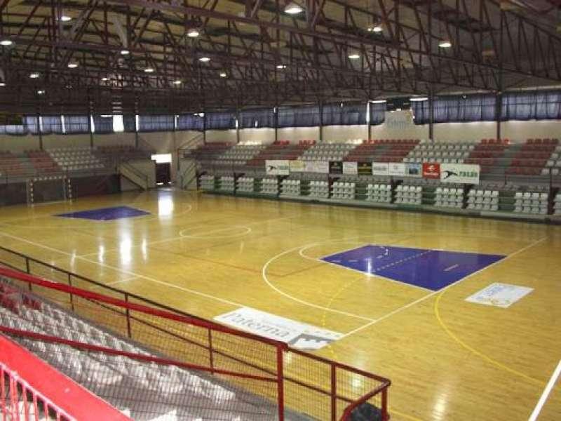 Interior Pabellon Ciudad Deportiva Municipal de Paterna. EPDA