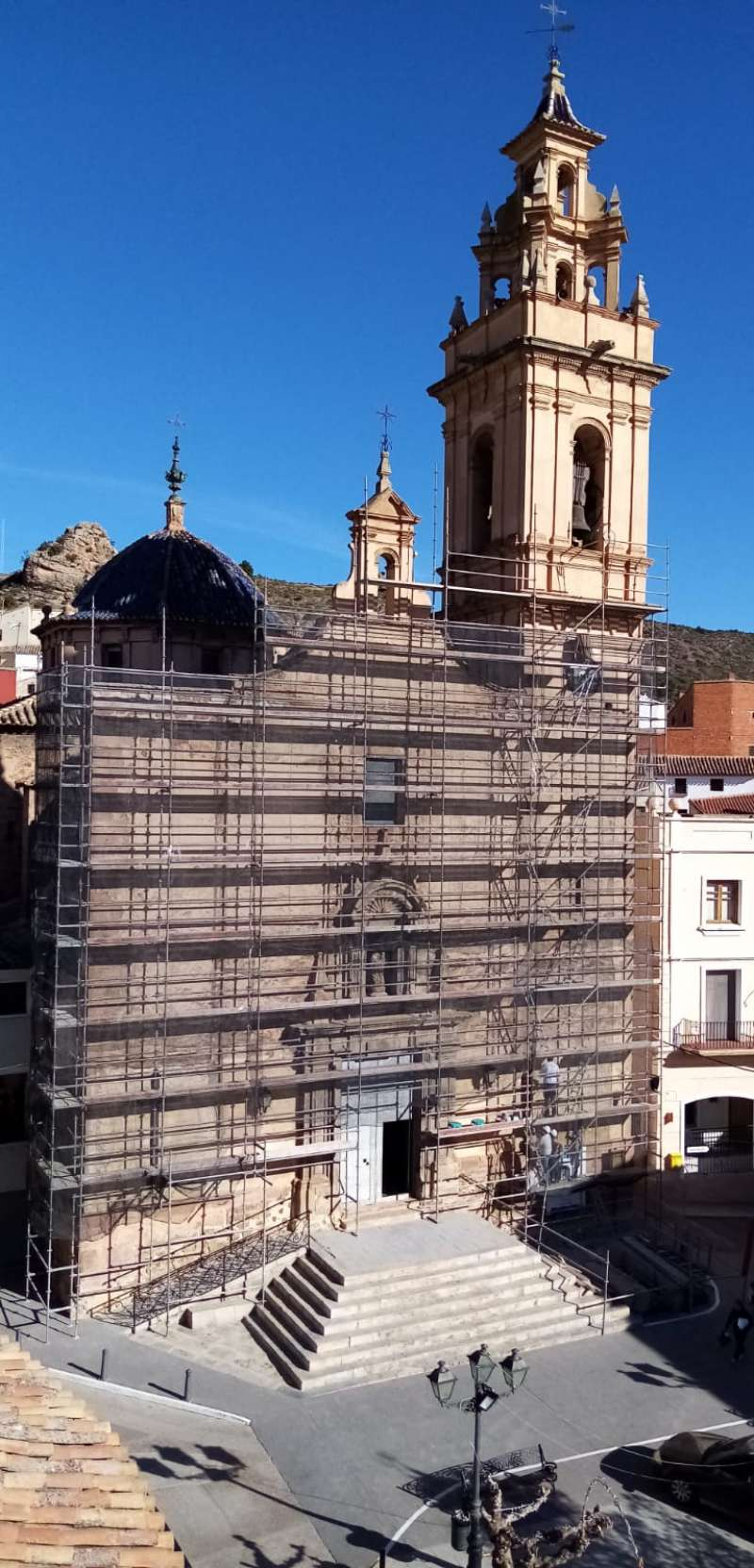 Restauración de la iglesia parroquial. EPDA