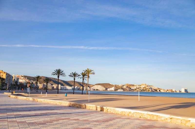 Playa de Cullera, imagen de archivo