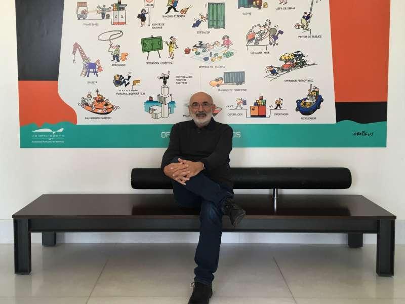 El humorista gráfico valenciano, Antonio Ruiz Fuster