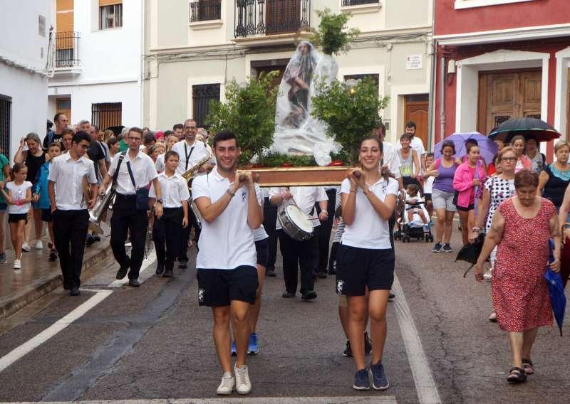 Romeria de Sant Roc a Estivella.
