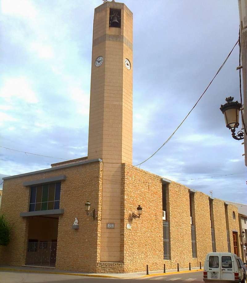 La parroquia De Santa Bárbara de Casinos, celebra el Septenario en honor a la Virgen de los Dolores. EPDA