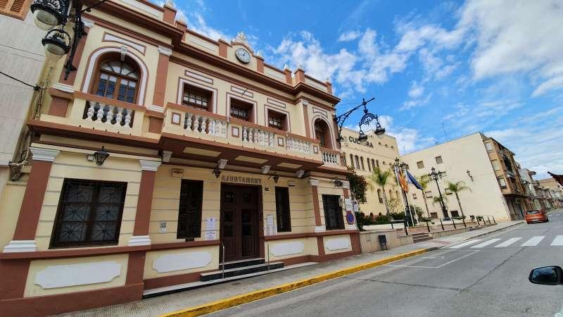Ayuntamiento Pobla de Vallbona./EPDA