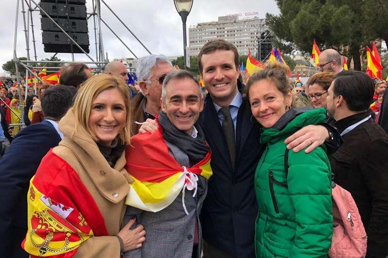 Miguel Barrachina con Casado