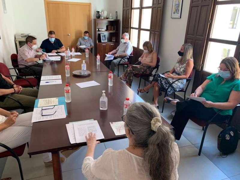 Reunión del patronato de la Fundación. Foto: Archivo