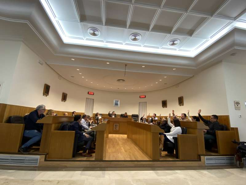 Celebración del pleno en Paterna. EPDA