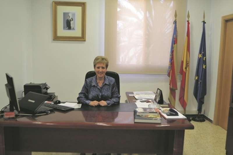 Alcaldessa de El Puig de Santa Maria, Luisa Salvador. EPDA