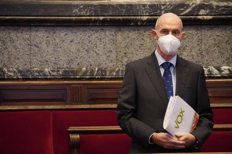 Pepe Gosálbez, portavoz de VOX en el Ayuntamiento de Valencia
