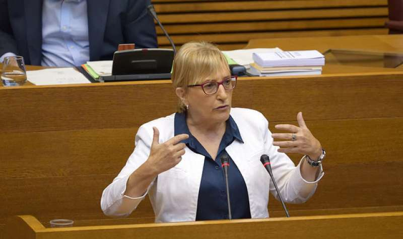 La responsable jurídica dels socialistes valencians i portaveu adjunta del PSPV en Els Corts, Ana Barceló