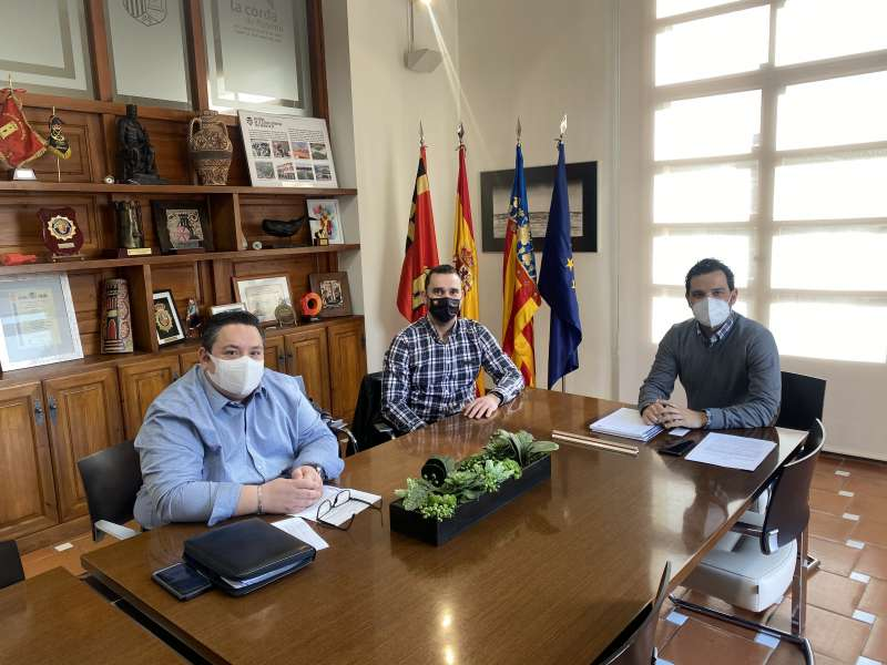 Reunión celebrada hoy en Paterna