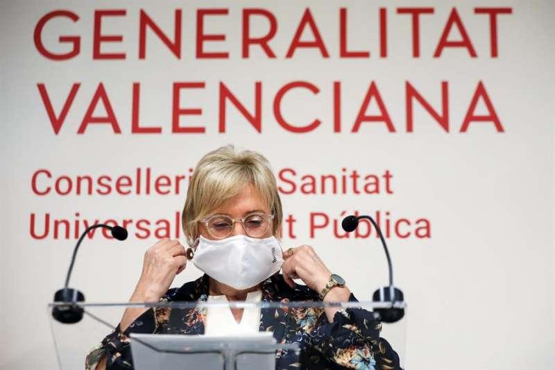 Imagen de archivo de la consellera de Sanidad, Ana Barceló. EFE/Ana Escobar