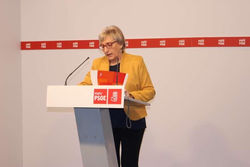 Intervención de la socialista Ana Barceló.