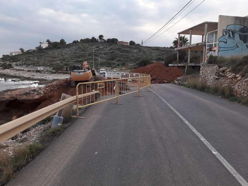 Carretera litoral sud Peñíscola